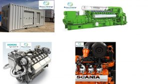 Biosus Gas CHP System Pictures